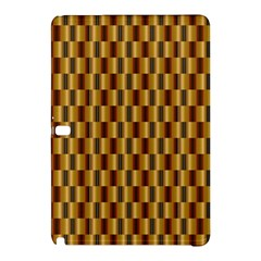 Gold Abstract Wallpaper Background Samsung Galaxy Tab Pro 10.1 Hardshell Case