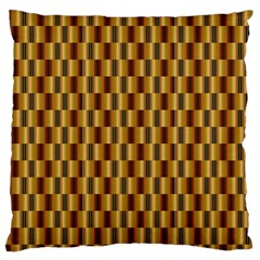 Gold Abstract Wallpaper Background Standard Flano Cushion Case (One Side)
