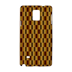 Gold Abstract Wallpaper Background Samsung Galaxy Note 4 Hardshell Case