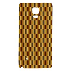 Gold Abstract Wallpaper Background Galaxy Note 4 Back Case