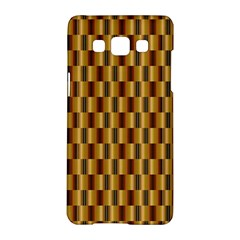 Gold Abstract Wallpaper Background Samsung Galaxy A5 Hardshell Case
