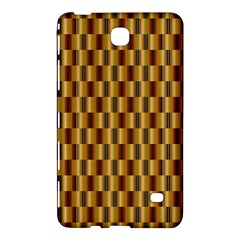 Gold Abstract Wallpaper Background Samsung Galaxy Tab 4 (7 ) Hardshell Case