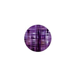 Purple Wave Abstract Background Shades Of Purple Tightly Woven 1  Mini Buttons