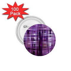 Purple Wave Abstract Background Shades Of Purple Tightly Woven 1.75  Buttons (100 pack)