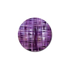 Purple Wave Abstract Background Shades Of Purple Tightly Woven Golf Ball Marker (10 Pack)