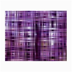 Purple Wave Abstract Background Shades Of Purple Tightly Woven Small Glasses Cloth