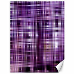 Purple Wave Abstract Background Shades Of Purple Tightly Woven Canvas 36  x 48