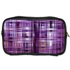 Purple Wave Abstract Background Shades Of Purple Tightly Woven Toiletries Bags