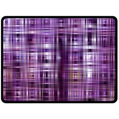 Purple Wave Abstract Background Shades Of Purple Tightly Woven Fleece Blanket (Large)