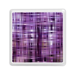 Purple Wave Abstract Background Shades Of Purple Tightly Woven Memory Card Reader (square)