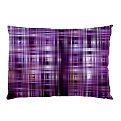 Purple Wave Abstract Background Shades Of Purple Tightly Woven Pillow Case (Two Sides)