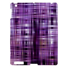 Purple Wave Abstract Background Shades Of Purple Tightly Woven Apple iPad 3/4 Hardshell Case