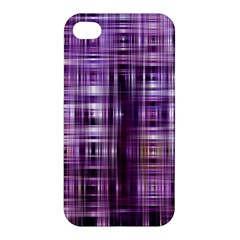 Purple Wave Abstract Background Shades Of Purple Tightly Woven Apple iPhone 4/4S Premium Hardshell Case