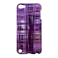 Purple Wave Abstract Background Shades Of Purple Tightly Woven Apple iPod Touch 5 Hardshell Case