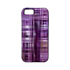 Purple Wave Abstract Background Shades Of Purple Tightly Woven Apple Iphone 5 Classic Hardshell Case (pc+silicone)