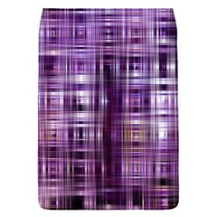 Purple Wave Abstract Background Shades Of Purple Tightly Woven Flap Covers (S)