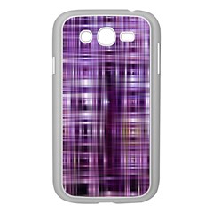 Purple Wave Abstract Background Shades Of Purple Tightly Woven Samsung Galaxy Grand Duos I9082 Case (white)