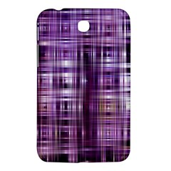 Purple Wave Abstract Background Shades Of Purple Tightly Woven Samsung Galaxy Tab 3 (7 ) P3200 Hardshell Case