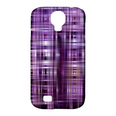 Purple Wave Abstract Background Shades Of Purple Tightly Woven Samsung Galaxy S4 Classic Hardshell Case (pc+silicone)
