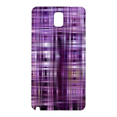 Purple Wave Abstract Background Shades Of Purple Tightly Woven Samsung Galaxy Note 3 N9005 Hardshell Back Case