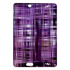 Purple Wave Abstract Background Shades Of Purple Tightly Woven Amazon Kindle Fire HD (2013) Hardshell Case