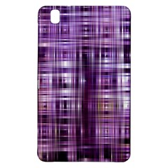 Purple Wave Abstract Background Shades Of Purple Tightly Woven Samsung Galaxy Tab Pro 8.4 Hardshell Case