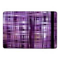 Purple Wave Abstract Background Shades Of Purple Tightly Woven Samsung Galaxy Tab Pro 10.1  Flip Case