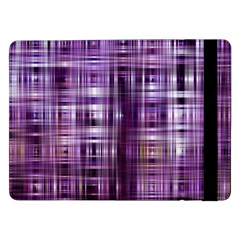 Purple Wave Abstract Background Shades Of Purple Tightly Woven Samsung Galaxy Tab Pro 12.2  Flip Case