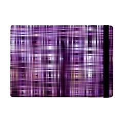 Purple Wave Abstract Background Shades Of Purple Tightly Woven iPad Mini 2 Flip Cases