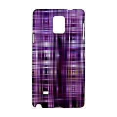 Purple Wave Abstract Background Shades Of Purple Tightly Woven Samsung Galaxy Note 4 Hardshell Case
