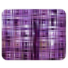 Purple Wave Abstract Background Shades Of Purple Tightly Woven Double Sided Flano Blanket (medium)