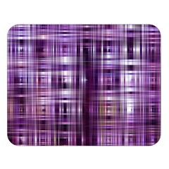 Purple Wave Abstract Background Shades Of Purple Tightly Woven Double Sided Flano Blanket (Large)