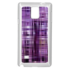 Purple Wave Abstract Background Shades Of Purple Tightly Woven Samsung Galaxy Note 4 Case (white)