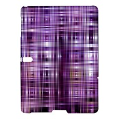 Purple Wave Abstract Background Shades Of Purple Tightly Woven Samsung Galaxy Tab S (10 5 ) Hardshell Case