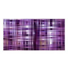Purple Wave Abstract Background Shades Of Purple Tightly Woven Satin Shawl