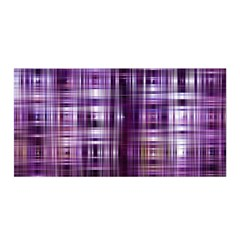 Purple Wave Abstract Background Shades Of Purple Tightly Woven Satin Wrap