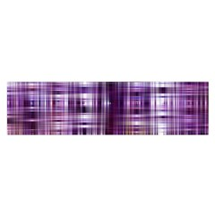 Purple Wave Abstract Background Shades Of Purple Tightly Woven Satin Scarf (oblong)