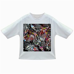 Abstract Composition Digital Processing Infant/Toddler T-Shirts