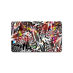 Abstract Composition Digital Processing Magnet (Name Card)