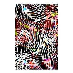 Abstract Composition Digital Processing Shower Curtain 48  x 72  (Small)