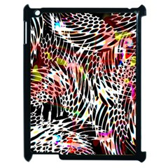 Abstract Composition Digital Processing Apple Ipad 2 Case (black)