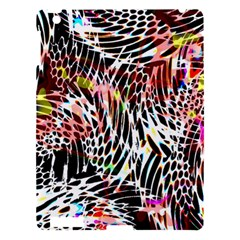 Abstract Composition Digital Processing Apple iPad 3/4 Hardshell Case