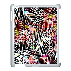 Abstract Composition Digital Processing Apple Ipad 3/4 Case (white)