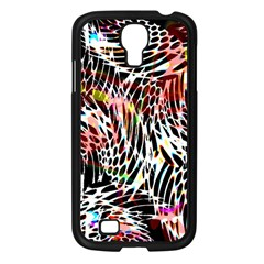 Abstract Composition Digital Processing Samsung Galaxy S4 I9500/ I9505 Case (Black)
