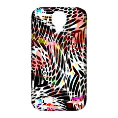Abstract Composition Digital Processing Samsung Galaxy S4 Classic Hardshell Case (PC+Silicone)