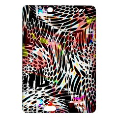 Abstract Composition Digital Processing Amazon Kindle Fire Hd (2013) Hardshell Case