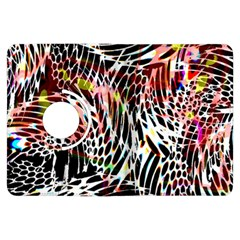 Abstract Composition Digital Processing Kindle Fire HDX Flip 360 Case
