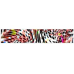 Abstract Composition Digital Processing Flano Scarf (large)