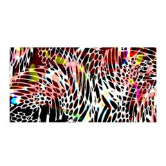 Abstract Composition Digital Processing Satin Wrap