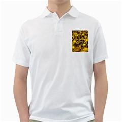 Vortex Glow Abstract Background Golf Shirts